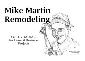 Martin Remodeling and Investments, LLC
